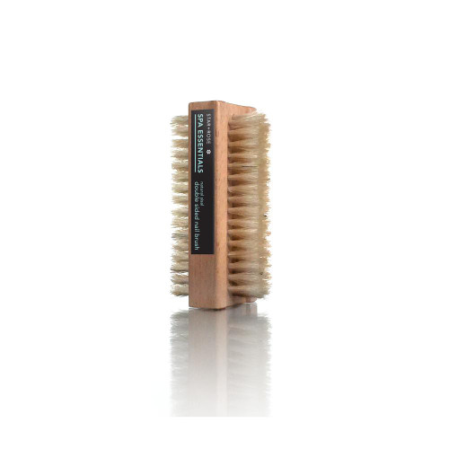 Double sided Natural Bristle Nail Brush