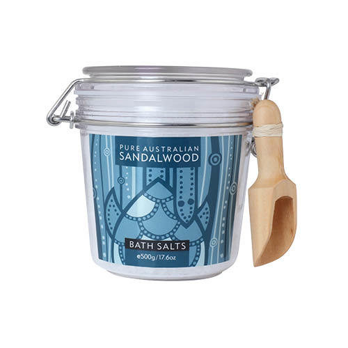 Pure Australian Sandalwood Bath Salts 500g