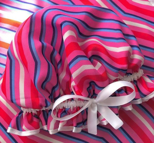 Hot Pink Candy Stripes