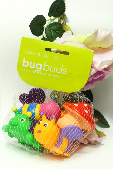 Bath Time Bug Buds