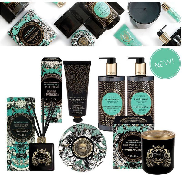 Bohemienne Hand Cream and range