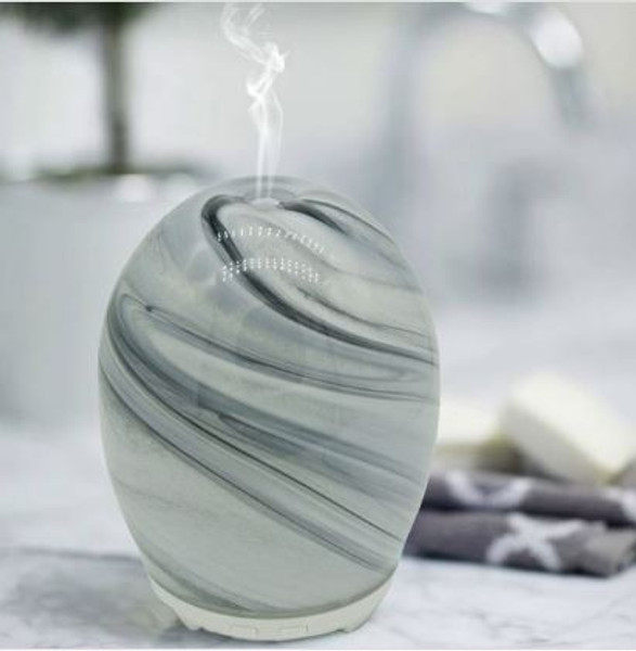 Electric Aromatherapy Colour Changing Diffuser MARBLE