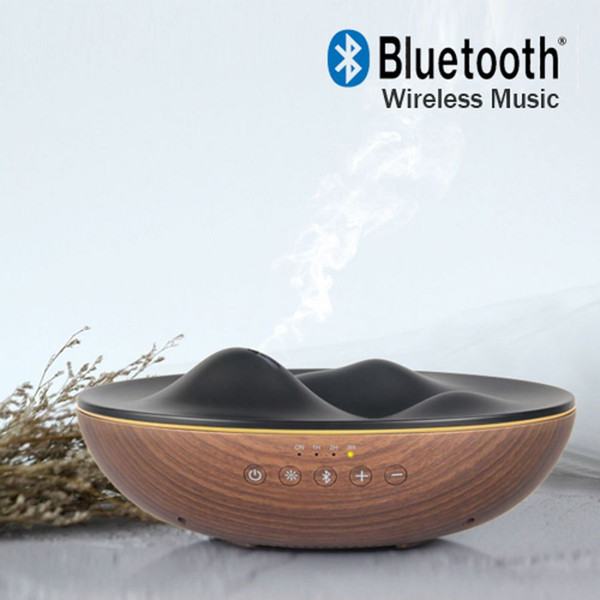 Electric Aromatherapy Colour Changing Diffuser RIPPLE BLUETOOTH MUSIC