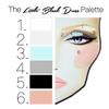 1960's Makeup Face Chart