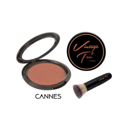 Vintage Tan Cannes with brush