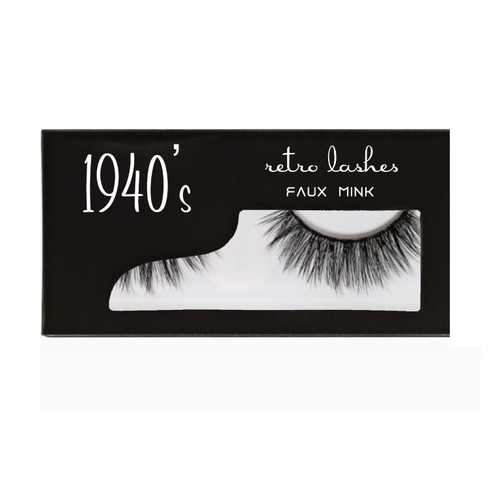 1940's  Faux Mink Strip lashes