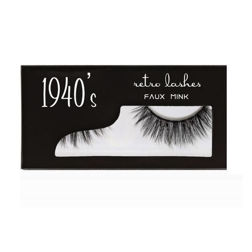 1940's  Faux Mink Strip lashes