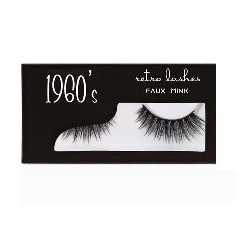 1960's Faux Mink Strip lashes