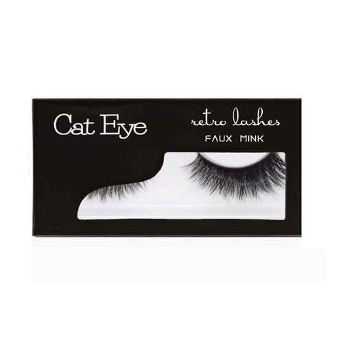 Cat Eye Faux Mink Strip lashes