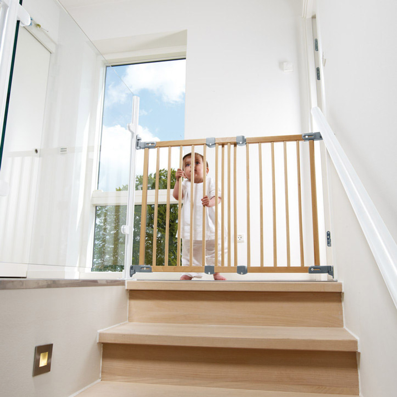 Babydan Flexi Fit Wooden Stair Gates Baby Safety