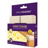 Clevamama Corner Cushions Small - 4 Pack
