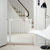 BabyDan Premier True Pressure Fit Safety Gate - White (73.5 - 79.6cm; Max 119.3cm) Babydan image 2