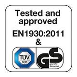 BabyDan Premier True Pressure Fit Safety Gate - White (73.5 - 79.6cm; Max 119.3cm) Product Image Seven