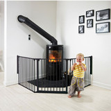 BabyDan Configure Flex Gate Large - Black (90-223 cm) Product Image 4