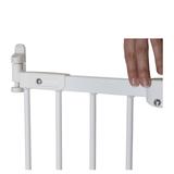 BabyDan Flexi Fit Metal Stair Gate - White (67-105.5 cm) close