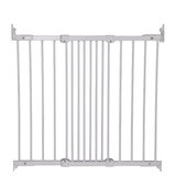 BabyDan Flexi Fit Metal Stair Gate - White (67-105.5 cm) Gate