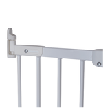 BabyDan Flexi Fit Metal Stair Gate - White (67-105.5 cm) part