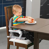 Chicco Pocket Snack Booster Seat Dark Grey Product Image Three