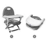Chicco Pocket Snack Booster Seat Dark Grey Chicco image 2