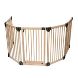Wooden Multi Panel Multi Safety Barrier