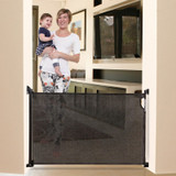 Dreambaby Retractable Stair Gate - Black live