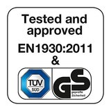 BabyDan Premier Pressure Indicator Gate, White (73.5cm - 105.6cm) safety | BabySafety.ie