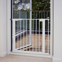 BabyDan Premier True Pressure Fit Safety Gate - White (73.5 - 79.6cm; Max 119.3cm) Babydan image 3