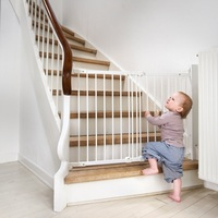BabyDan Flexi Fit Metal Stair Gate - White (67-105.5 cm)