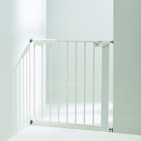 BabyDan Danamic Narrow Pressure Fit Safety Gate White (63-69.5cm) Product Image 4
