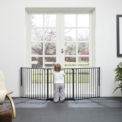 BabyDan Configure Flex Gate Large - Black (90-223 cm)