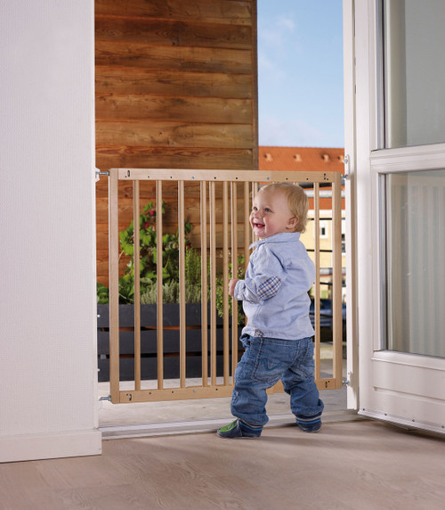 BabyDan Multidan Beechwood Safety Gate (60.5 -102 cm)