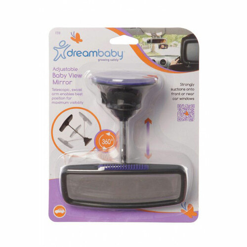 Dreambaby Adjustable Baby View Mirror