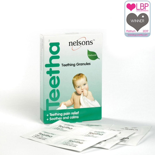 Nelsons Teetha Natural Teething Granules 24 Sachets Main Image
