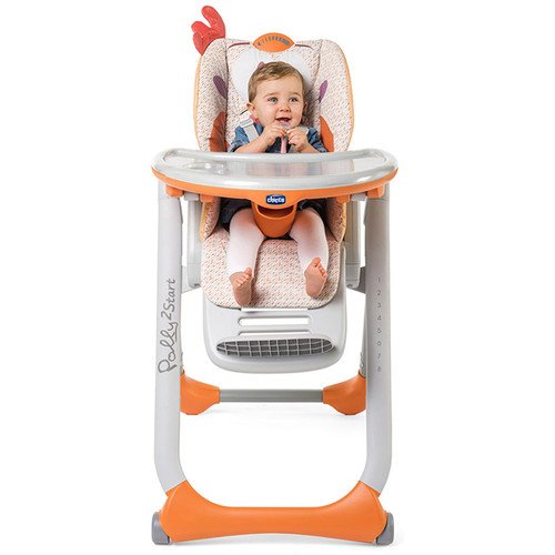 Chicco Polly 2 Start Highchair - Fancy Chicken Main Image