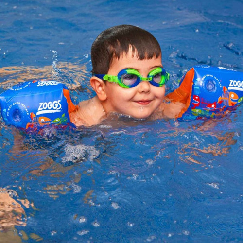 Zoggs Baby Swimming Armbands Blue Shark Main Image