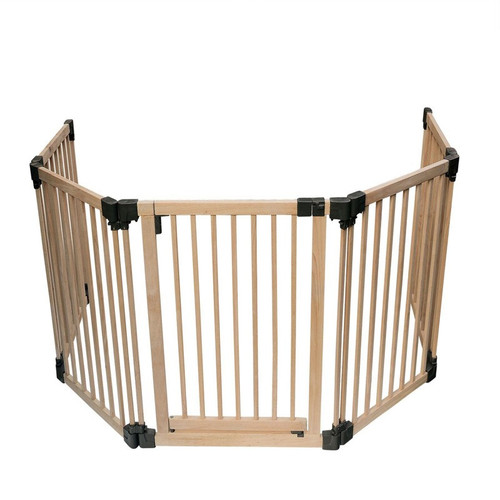 Wooden Multi Panel Multi Use Safety Barrier 96.5 to 336.5cm