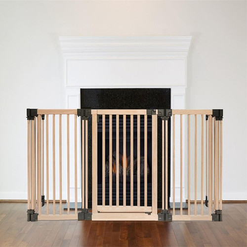 Wooden Multi Panel Multi Use Safety Barrier