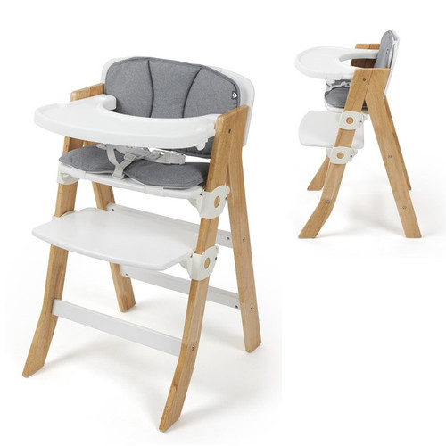 Babylo Oslo 2 in 1 Wooden Highchair Profile