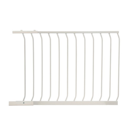 Dreambaby Chelsea 100cm Wide Gate Extension (White)
