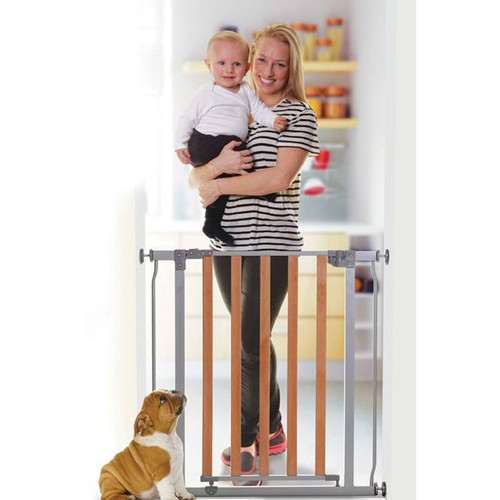 Dreambaby Cosmopolitan Wood/Metal Pressure Safey Gate live