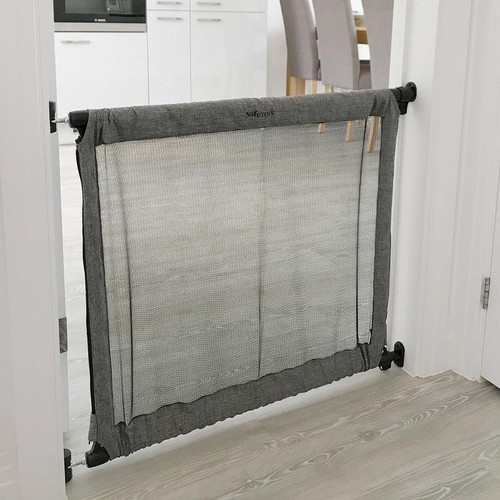 Safetots Secure Fabric Gate Grey