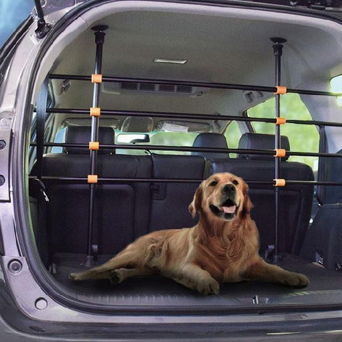 Bettacare Deluxe Fit Any Car Adjustable Dog Barrier live