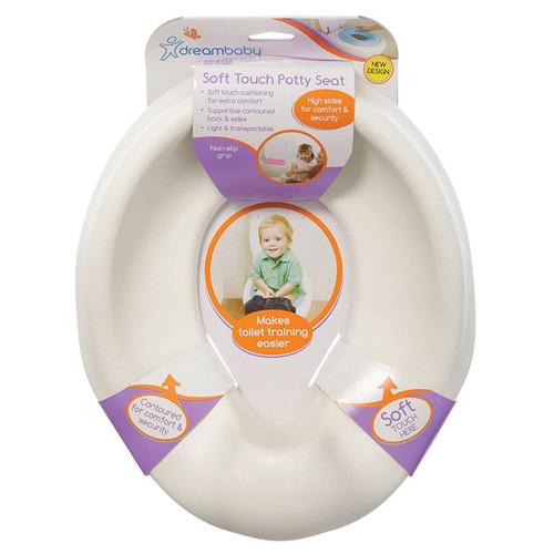 Dreambaby Foam Super Soft Feel Potty Seat - White