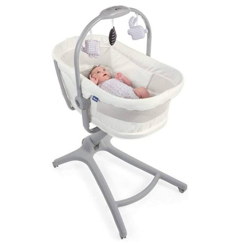 Chicco Baby Hug Air 4-In-1 White Snow crib baby