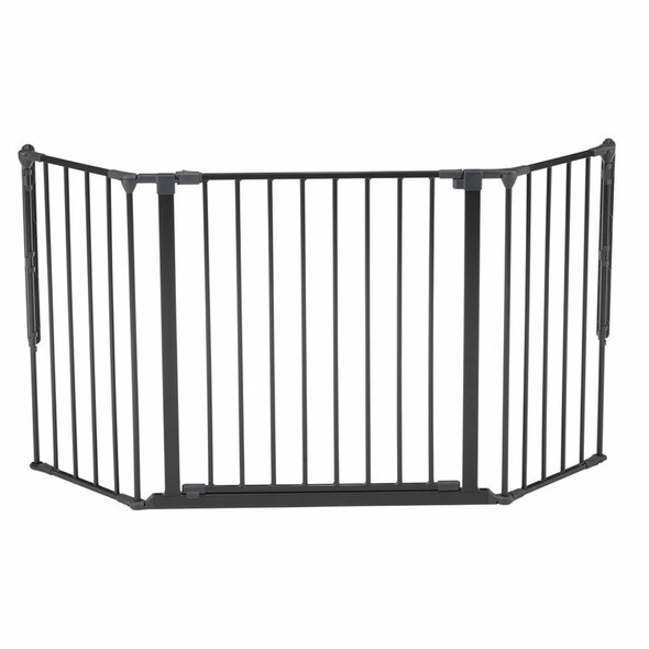 BabyDan Configure Flex Gate Medium - Black (90-146 cm) Babydan image 2