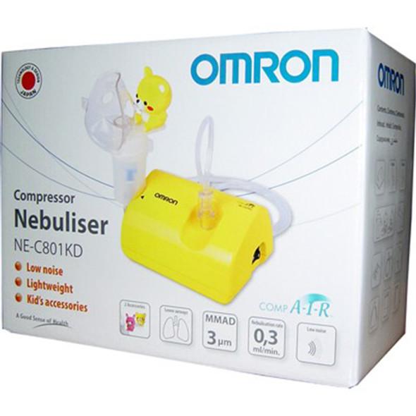 Omron Ne-C801S Comp Air Nebuliser For Children