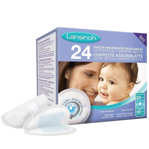 Lansinoh Disposable Nursing Pads - 24