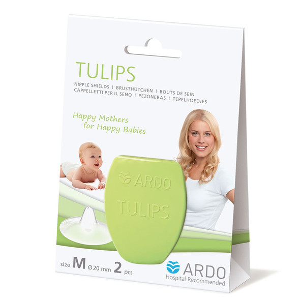 ARDO Tulips Nipple Shields Size M Ardo image 2