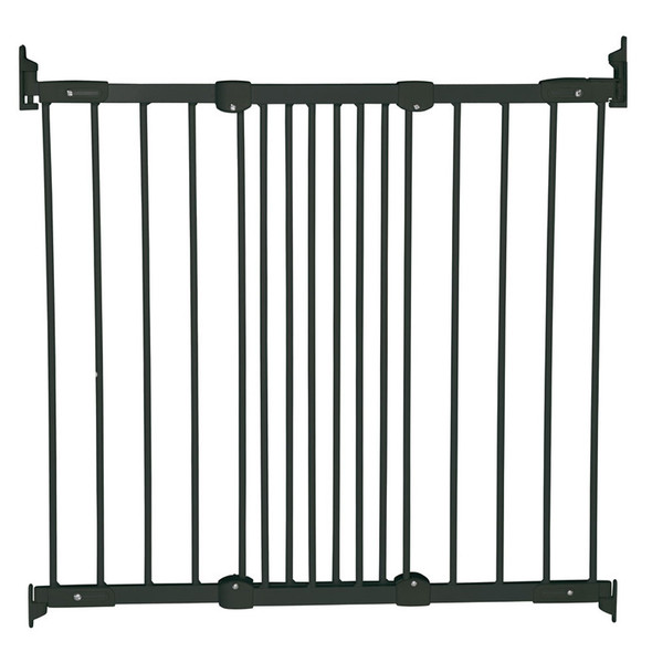 BabyDan Flexi Fit Metal Stair Gate - Black (67-105.5 cm) Babydan image 2