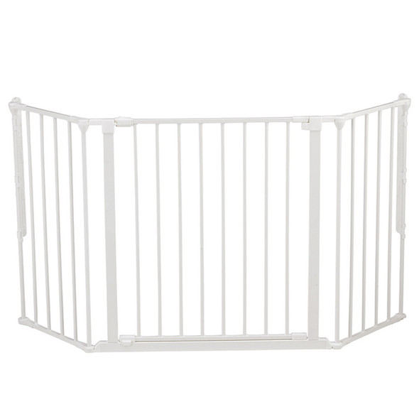 BabyDan Configure Flex Gate Medium - White (90-146 cm) Babydan image 2